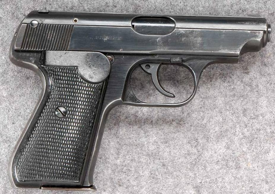 Раскраска пистолета